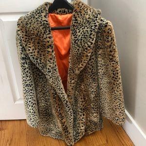 Cheetah Fur Coat